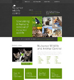 Responsive JavaScript Animated Template #49239
