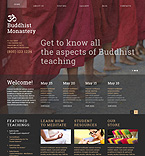 Buddhist Joomla Template