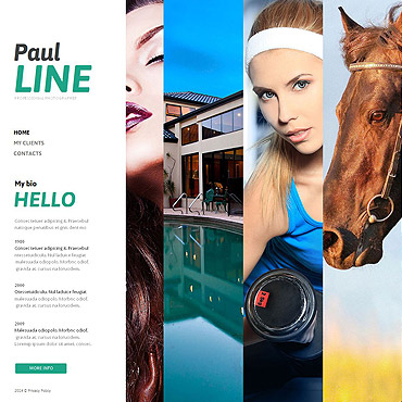Photo Gallery Template # 49347