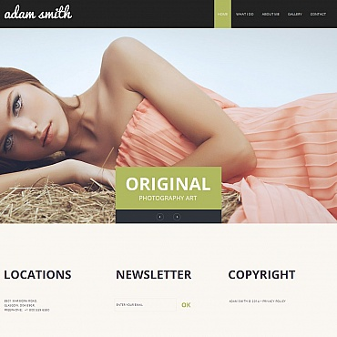 Photo Gallery Template # 49356