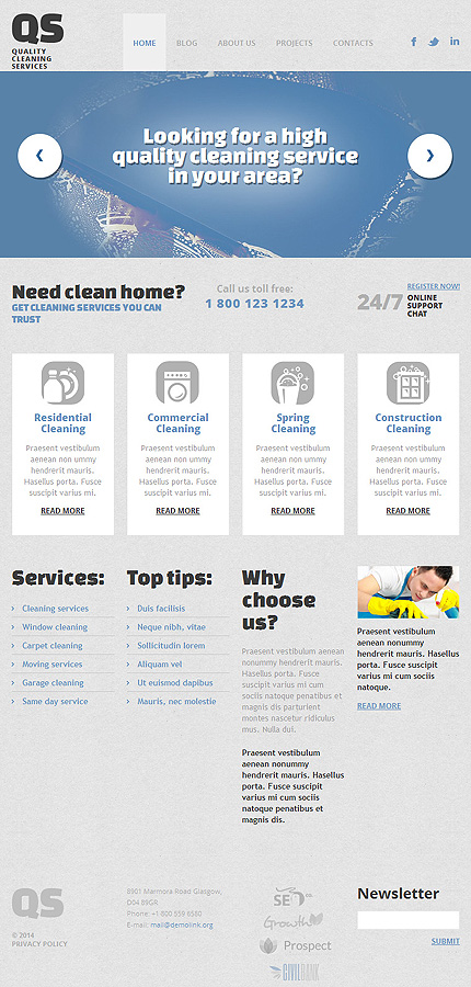 Anteprima template #49360 - TemplateDigitale.com