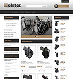Weapon Accessories Magento Template