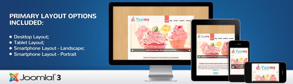 Yummy - Template Joomla