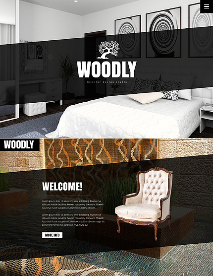 Bootstrap Interior & Furniture Website Templat