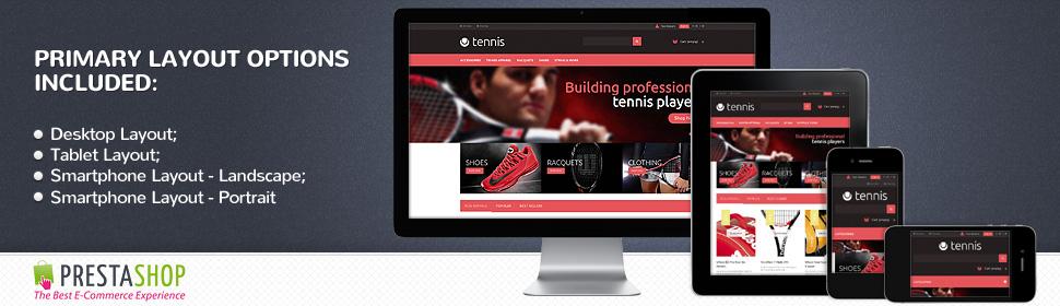 Sport - Template PrestaShop