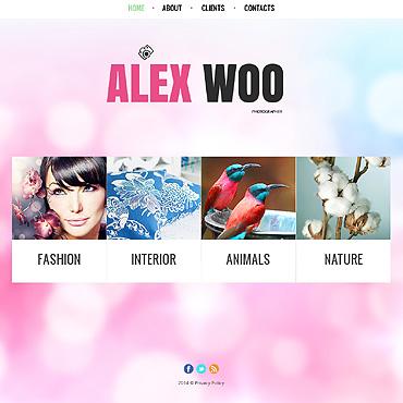 Website Template # 49458