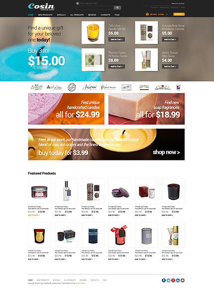 Hobbies & Crafts website inspirations at your coffee break? Browse for more Zen Cart #templates! // Regular price: $139 // Sources available: .PSD, .PHP #Hobbies & Crafts #Zen Cart