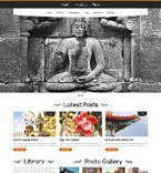 Buddhism WordPress Template