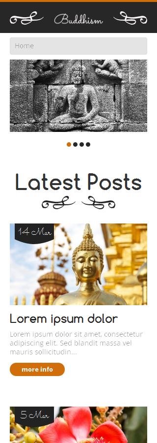 Religious Most Popular website inspirations at your coffee break? Browse for more WordPress #templates! // Regular price: $75 // Sources available: .PSD, .PHP, This theme is widgetized #Religious #Most Popular #WordPress