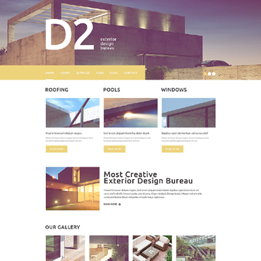 WordPress Theme # 49500
