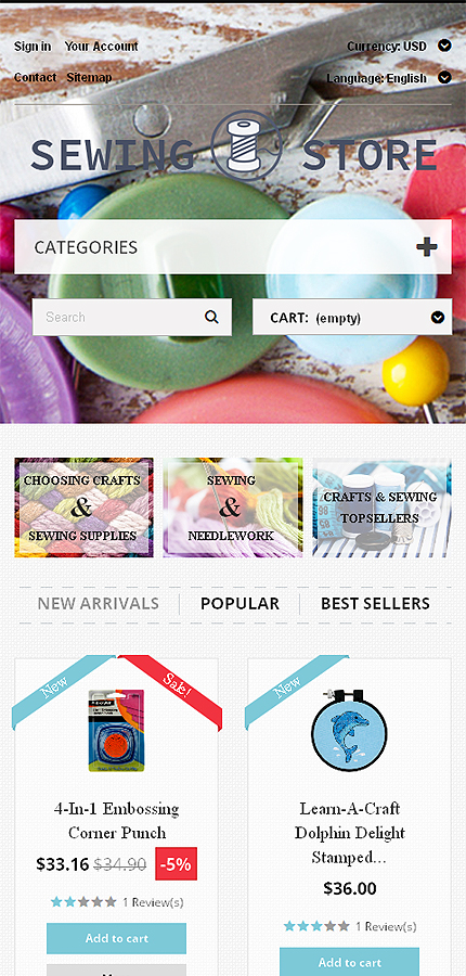 Most Popular Hobbies & Crafts website inspirations at your coffee break? Browse for more PrestaShop #templates! // Regular price: $139 // Sources available: .PSD, .PHP, .TPL #Most Popular #Hobbies & Crafts #PrestaShop