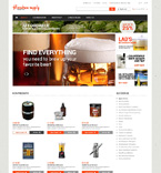 Brewing Equipment Magento Template