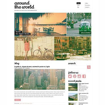 WordPress Theme # 49621