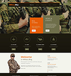 Military Blog WordPress Template