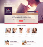 Dating Agency WordPress Template