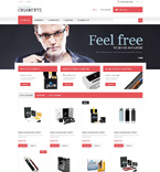 Electronic Cigarettes PrestaShop Template