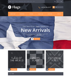 Flags Store OpenCart Template