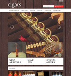 Cigars Magento Template
