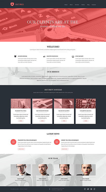 Security Most Popular website inspirations at your coffee break? Browse for more Drupal #templates! // Regular price: $75 // Sources available: .PSD, .PHP #Security #Most Popular #Drupal