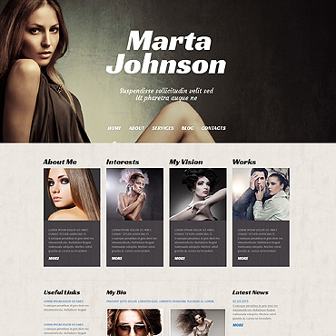 WordPress Theme # 50526