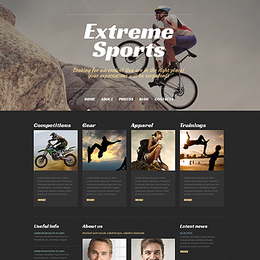 WordPress Theme # 50529