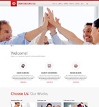 Responsive JavaScript Animated Template #50544
