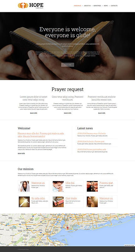 Religious Most Popular website inspirations at your coffee break? Browse for more Joomla #templates! // Regular price: $75 // Sources available: .PSD, .PHP #Religious #Most Popular #Joomla