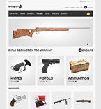 Weapons Magento Template