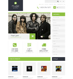 Online Music Store OpenCart Template