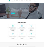 Responsive JavaScript Animated Template #50729
