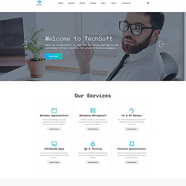 Website Template # 50729