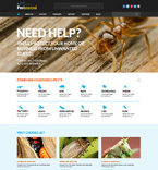 Responsive JavaScript Animated Template #50731