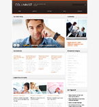 Responsive JavaScript Animated Template #50806