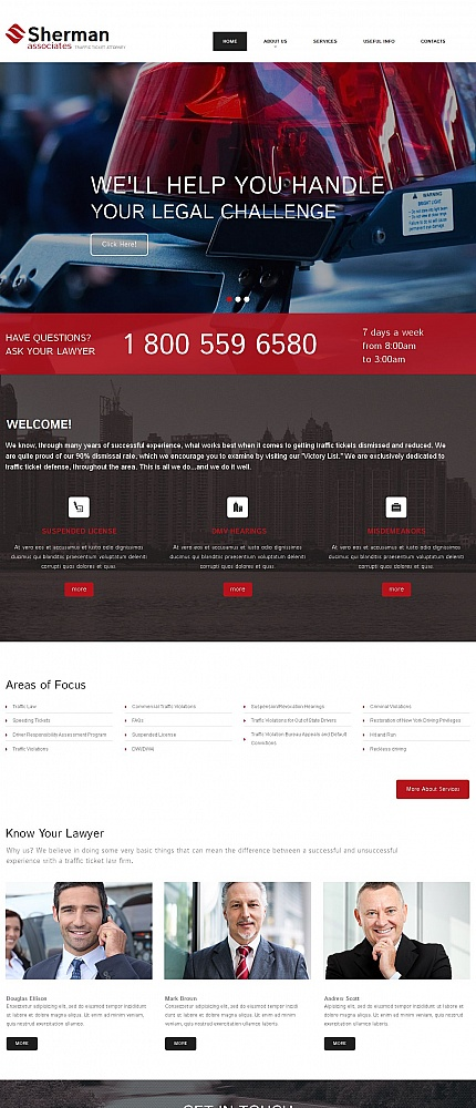 Law Most Popular website inspirations at your coffee break? Browse for more Moto CMS HTML #templates! // Regular price: $139 // Sources available:<b>Sources Not Included</b> #Law #Most Popular #Moto CMS HTML