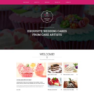 Website Template # 50918