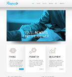 Responsive JavaScript Animated Template #50920