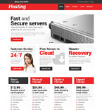 Web Hosting WordPress Template