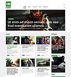 Games Portal Joomla Template