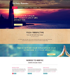 Responsive JavaScript Animated Template #51020