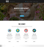 Responsive JavaScript Animated Template #51047