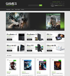 Games Magento Template