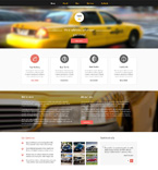 Responsive JavaScript Animated Template #51077