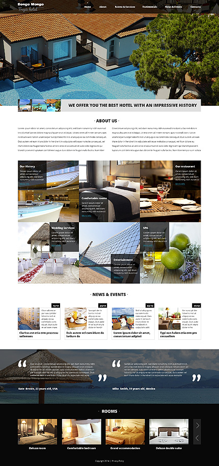 Hotels Most Popular website inspirations at your coffee break? Browse for more Drupal #templates! // Regular price: $75 // Sources available: .PSD, .PHP #Hotels #Most Popular #Drupal