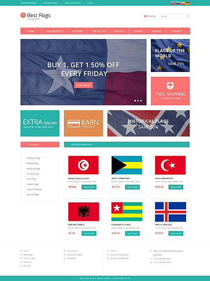 Politics website inspirations at your coffee break? Browse for more OsCommerce #templates! // Regular price: $139 // Sources available: .PSD, .PHP #Politics #OsCommerce