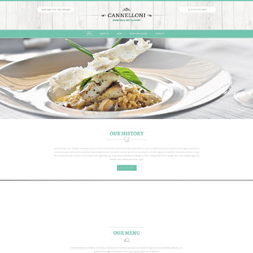 Website Template # 51136
