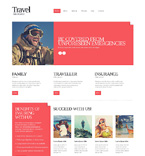 Responsive JavaScript Animated Template #51150