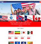 Flags Store Magento Template