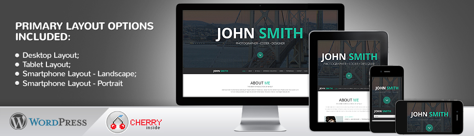 Personal Pages - Template WordPress