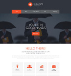 Responsive JavaScript Animated Template #51251