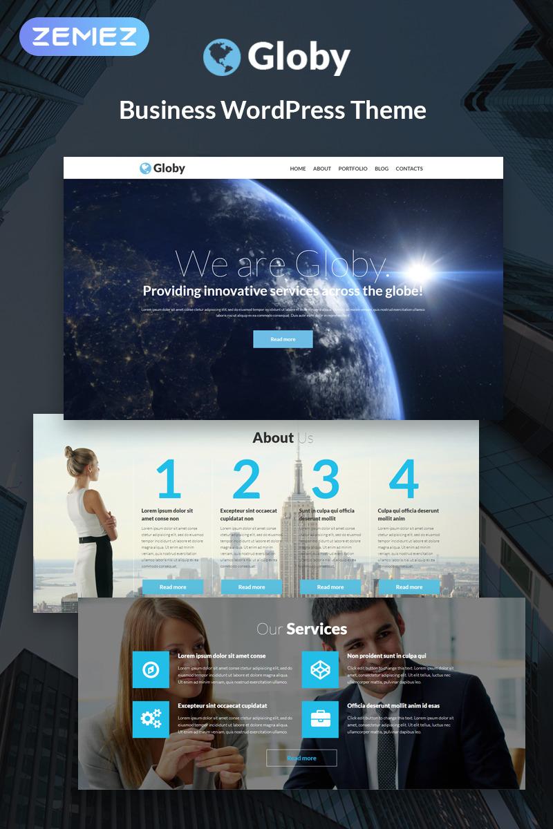 Global Business WordPress Template